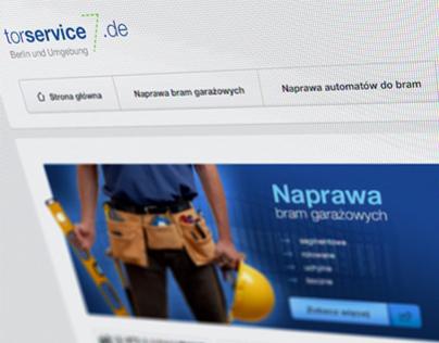 Torservice.de - simple gate service website