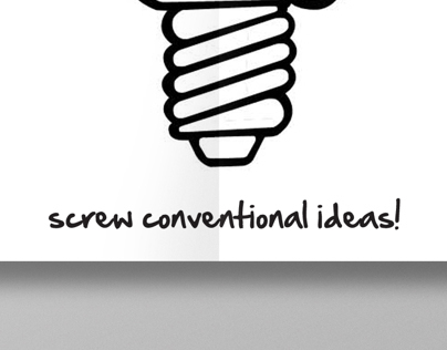 Screw conventional thinking