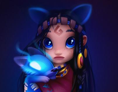 Little shaman
