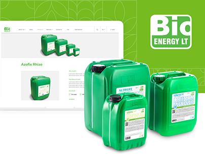 Bioenergy LT | LABELS, WEB & CATALOGUE DESIGN