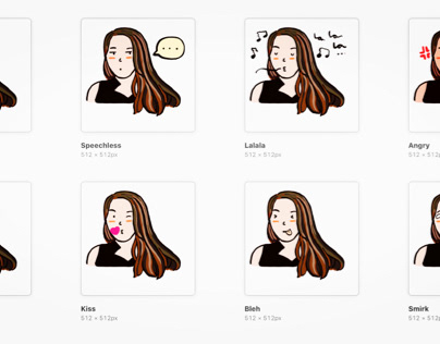 WhatsApp stickers for a friend