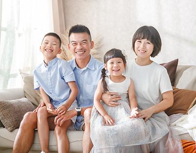 兒童攝影 - 全家福