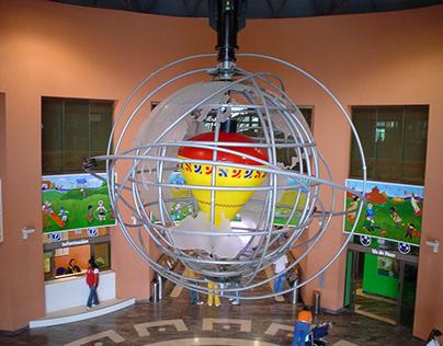 Escultura para el Museo del Niño El Trompo Mágico