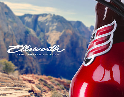 Ellsworth MTB Brand Identity + Product Styling