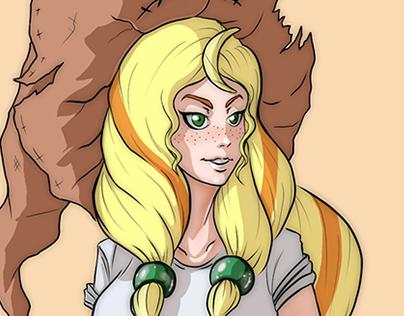 Elsa Fanart MoonGirl