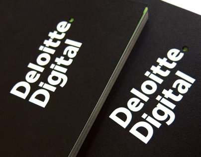 Deloitte Digital Portfolio Book