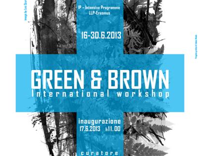 "Poster ""Green & Brown International Workshop"""