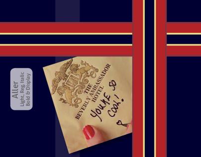 Aller - True Romance Type Specimen Booklet