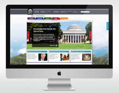 MIT Sloan MBA Website