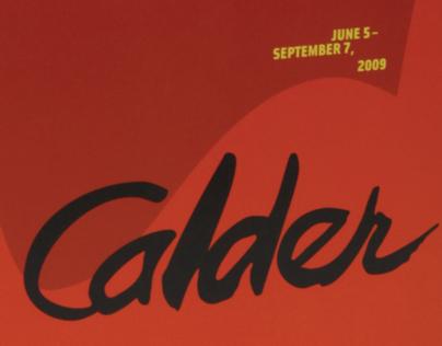 Alexander Calder Exhibition Guide