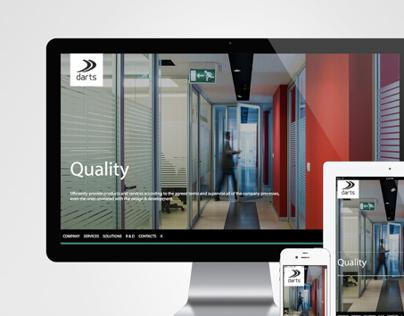 Darts Website / Redesign