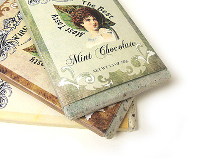 [PACKAGING] Virgin: Vintage Chocolate Bars