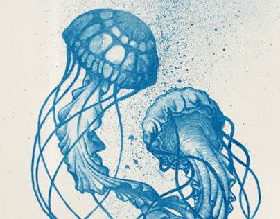 Lithography Jellyfish