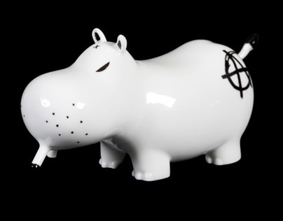 Potamus Porcelain by Kozik x K.Olin tribu