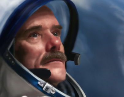 Chris Hadfield Poster