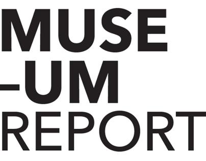 Museo del Novecento – annual report (concept)