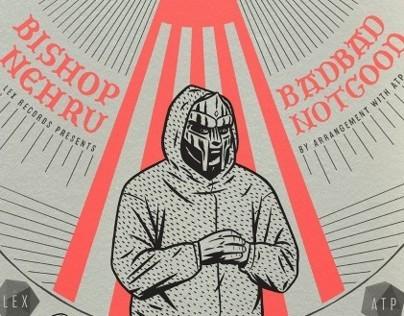 DOOM • BISHOP NEHRU • BADBADNOTGOOD poster