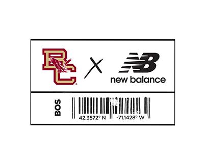 Boston College x New Balance Launch