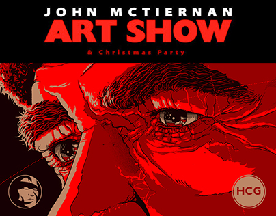 ONE PING ONLY / JOHN McTIERNAN ART SHOW / HCG