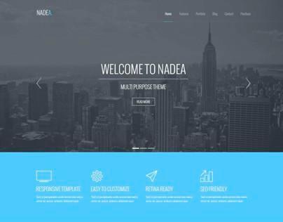 Nadea – Multipurpose PSD Template