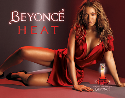 Beyonce HEAT - banner ads