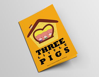 Three Little Pigs Book Design
