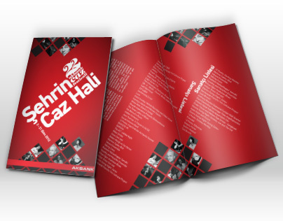 22. Akbank Jazz Festival Brochure & Poster