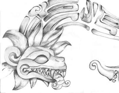 Maya y Quetzalcoatl