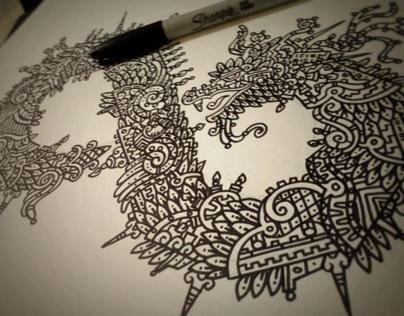 Quetzalcoatl // Dibujo y Diseño con Identidad Mexicana