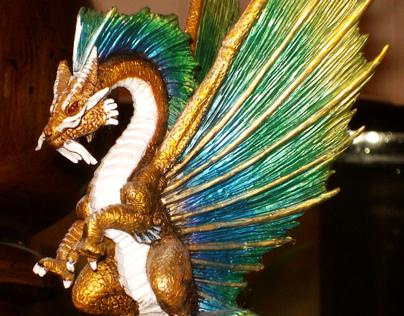 Custom Painted D&D Mini Figure Dragon