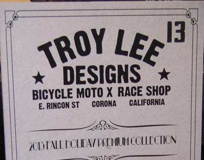 Troy Lee Designs 2013 Fall/Holiday Sportswear Catalog
