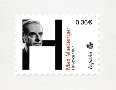 Typographers Stamps