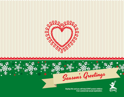 Season's Greetings for Ecpat Italia