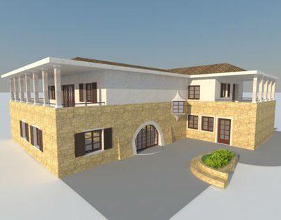 Modernization of traditional villa in Alps /2 proposals