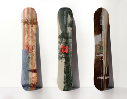 Burton Snowboards' 2015 'Backyard Project' collection.