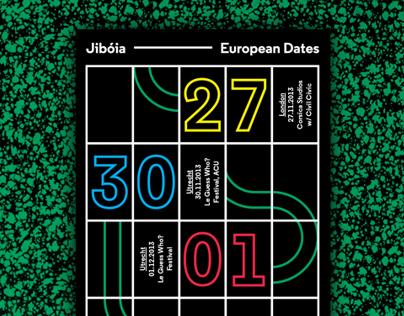 Jibóia — European Dates