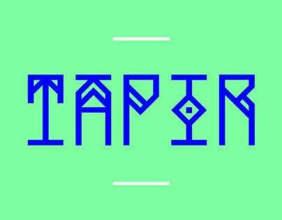 TAPIR Free Font