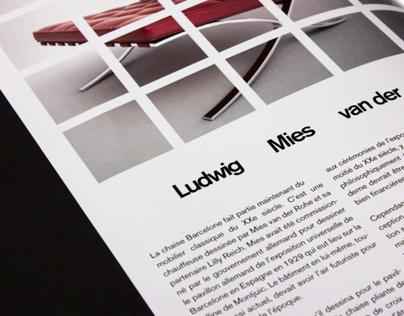 Brochure - Barcelona Chair