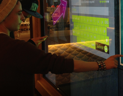 Interactive Entertainment Wall