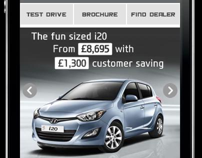 Hyundai Rich Media Ad