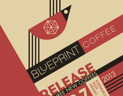 Blueprint Coffee Release Poster