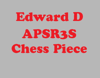 Blender Chess Piece