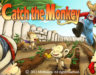 This is my work for Catch the Monkey mobile game.
