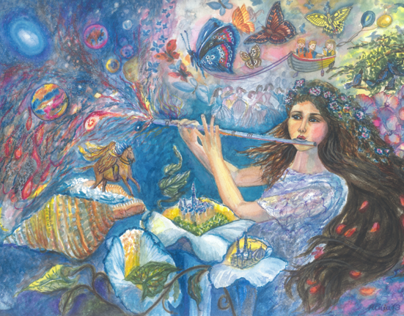 Copy of Josephine Wall's The Enchanted Flute