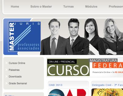 Plataforma e Website Master Juris