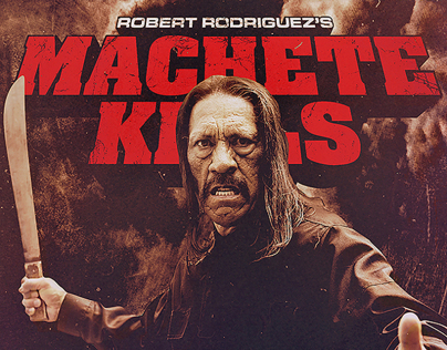 Machete Kills Steelbook (Alternative design)
