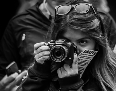 Edinburgh Festival Faces - Photographing