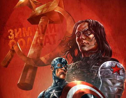 Captain America: The Winter Soldier Fanart On Behance