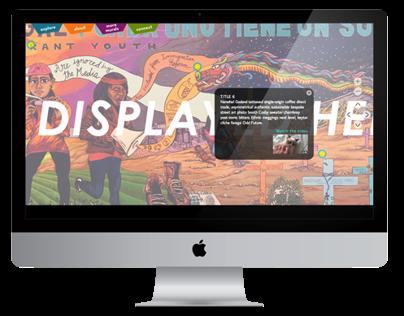 67 Sueños, Interactive Mural