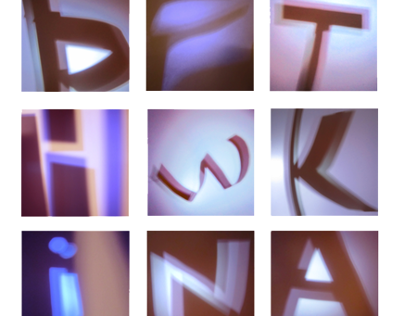 Letters, A Study of Light and Form